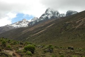Mount Kenya...