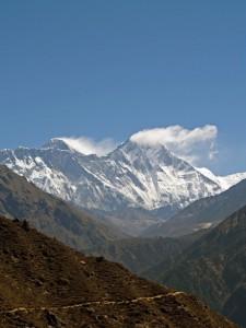 Lhotse; drie pieken boven de 8000 meter...