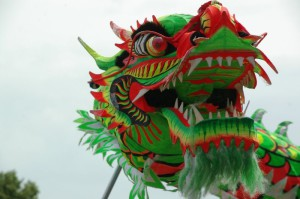 Dragon dance...