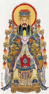 The Jade Emperor, ruler of all the gods...