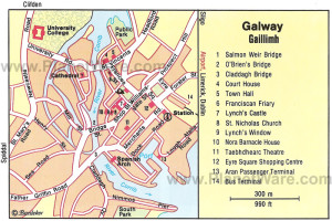 Map of Galway...