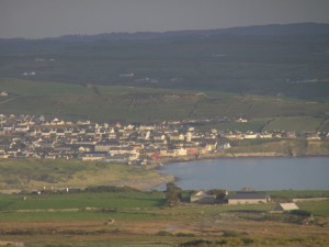 The coastal town of Lahinch...