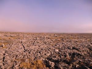Karst landschap van de Burren...