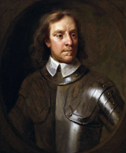 Oliver Cromwell by Samuel Cooper...