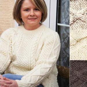 Aran sweater...