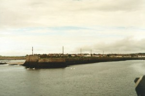 Leaving the harbour of Galway...