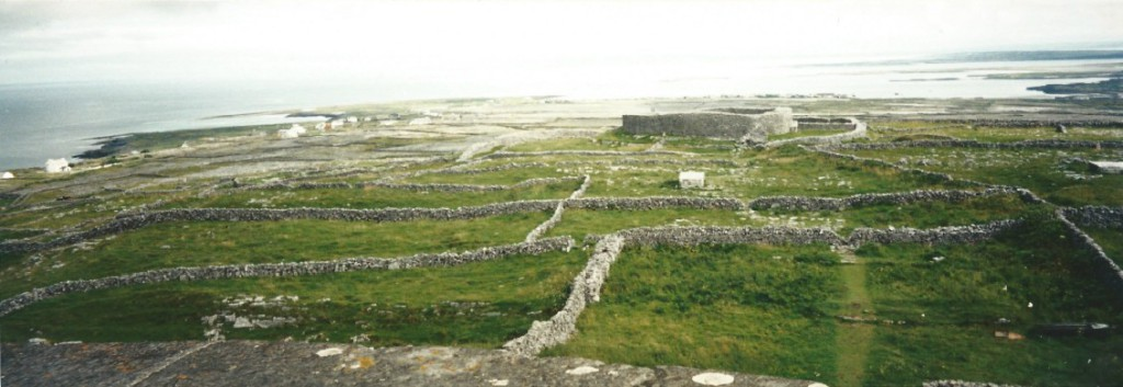 Dun Eochla, circular fort from the Iron Age...