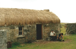 Example of a typical Aran dwelling...
