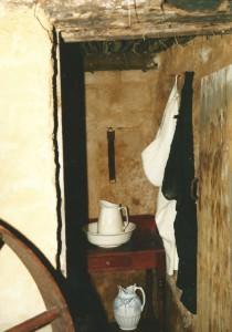 Toilet in an old Aran dwelling...