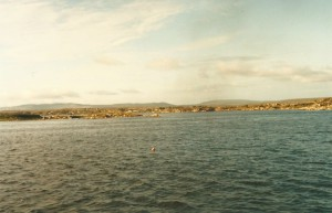 Back over the Galway Bay to Rossaveal...