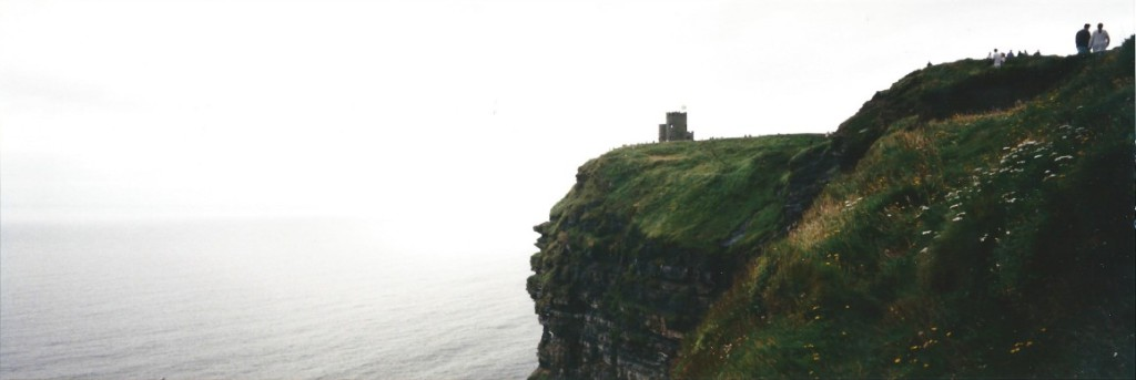 O'Briens Tower on top of more than 200 meter high cliffs...