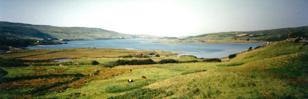 Along the coast from Clifden northward...