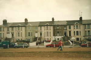 Past glory of stately houses on the coast...