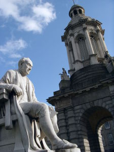 Sculpture of George Salmon...