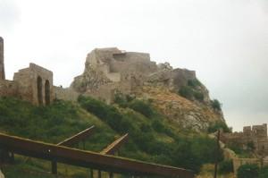 Devin Head Castle ruins...