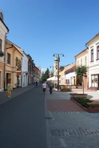 Centrum van Liptovsky Mikulas...