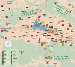 Surroundings of Liptovsky Mikulas...