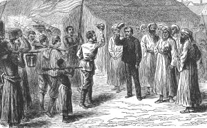 """""""Dr. Livingstone, I presume?""""; Stanley ontmoet Livingstone..."""