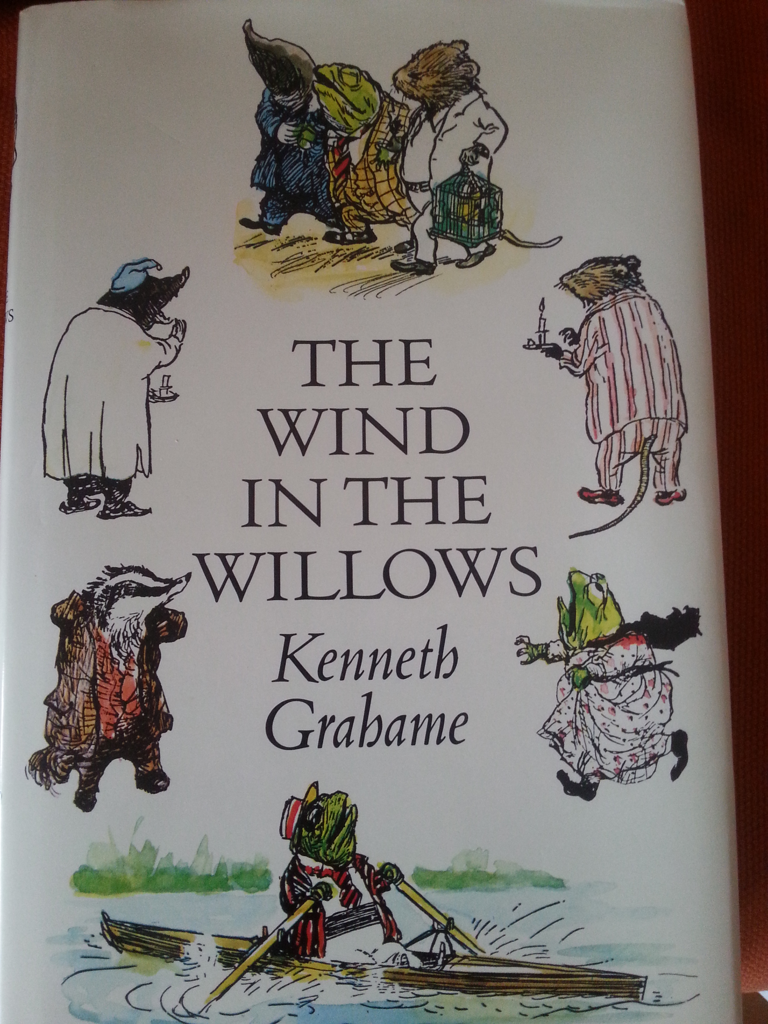 The Wind in the Willows, classic childrens book by Kenneth Ghahame