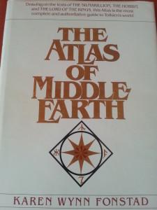 The Atlas of Middle Earth by Karen Wynn Fonstad