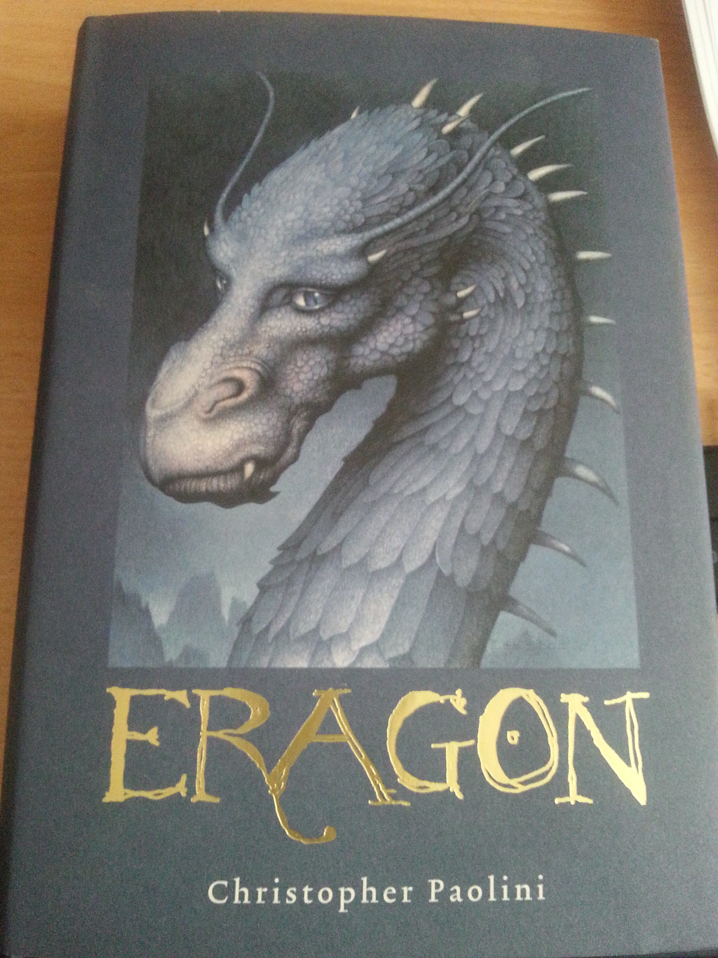Eragon by Christopher Paolini...