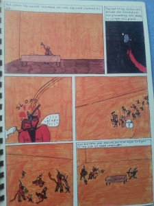 Another page from my comic book...