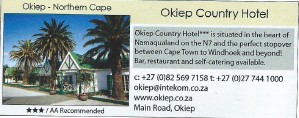 Country Hotel Okiep