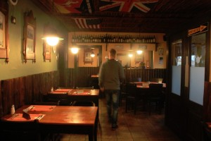 Kucki's Pub's restaurant...