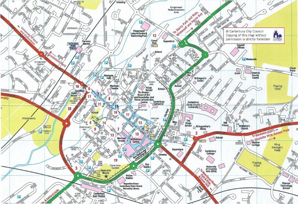 canterbury-map