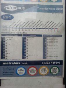 Bus Route 291