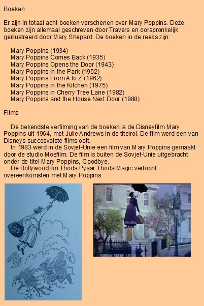 Thereu0027s One Chapters About Mary Poppins In This Adventure: Chapter 1:  London: Feed The Birds